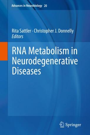 Metabolism Neurodegenerative Diseases 2018 978-3-319-89689-2
