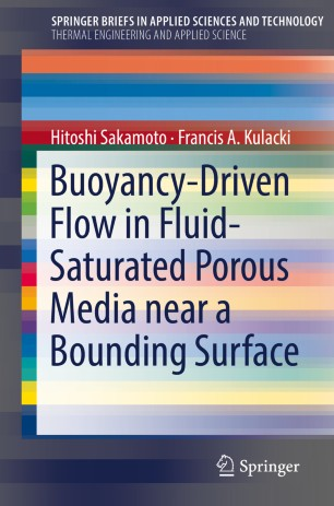 Buoyancy-Driven Flow in Fluid-Saturated Porous Media near a Bounding Surface