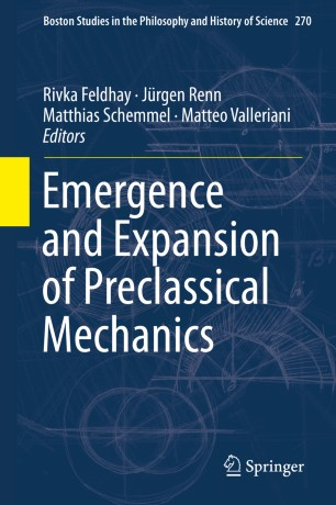 Emergence and Expansion of Preclassical Mechanics | SpringerLink