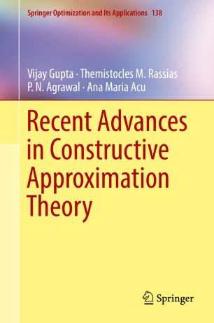 Recent Advances in Constructive Approximation Theory