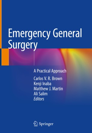 Emergency General Surgery 2019 978-3-319-96286-3