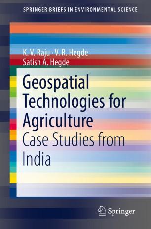 Geospatial Technologies for Agriculture | SpringerLink