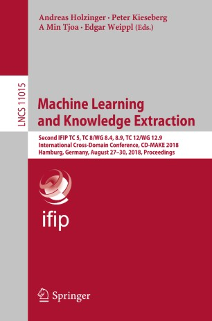 Machine Learning and Knowledge Extraction | SpringerLink