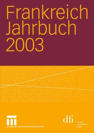 Frankreich Jahrbuch 2003