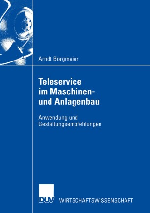 Teleservice im Maschinen- und Anlagenbau