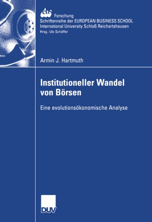 Institutioneller Wandel von Börsen