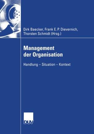 Management der Organisation