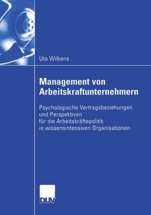 Management von Arbeitskraftunternehmern