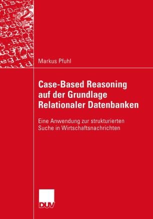 Case-Based Reasoning auf der Grundlage Relationaler Datenbanken