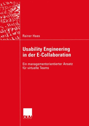 Usability Engineering in der E-Collaboration