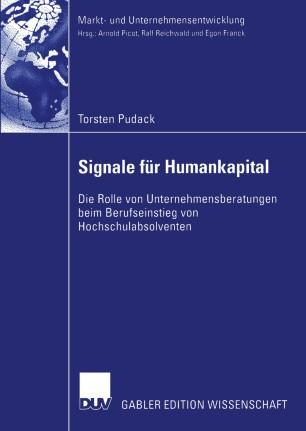 Signale für Humankapital