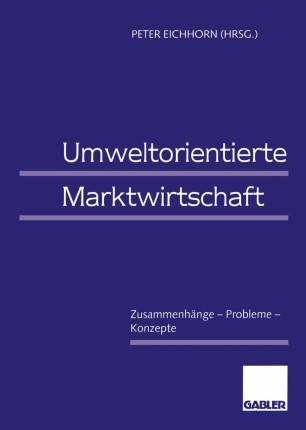 Umweltorientierte Marktwirtschaft