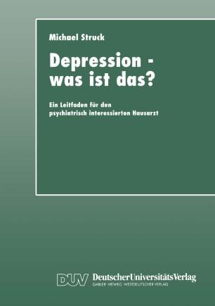 Depression — was ist das?