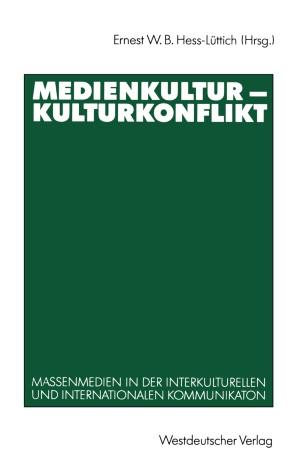Medienkultur Kulturkonflikt Springerlink