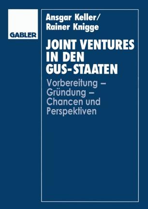 Joint Ventures in den GUS-Staaten
