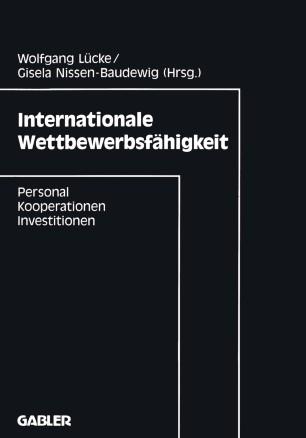 Internationale Wettbewerbsfähigkeit