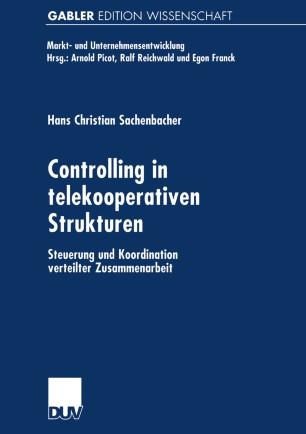 Controlling in telekooperativen Strukturen