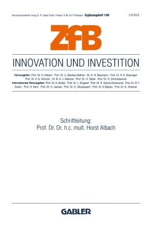 Innovation und Investition