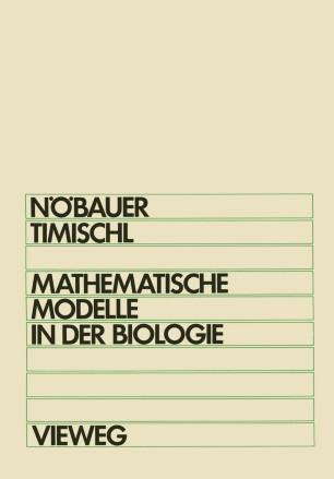 mathematische modelle in der biologie springerlink