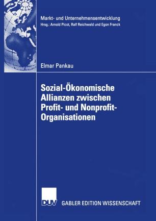 Sozial-Ökonomische Allianzen zwischen Profit- und Nonprofit-Organisationen