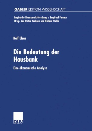 Die Bedeutung der Hausbank