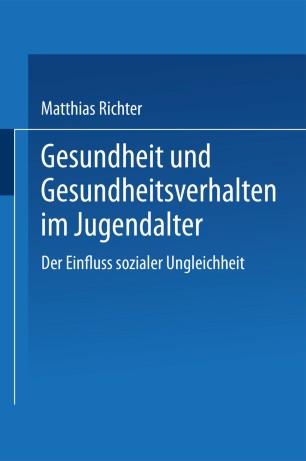 Soziale Ungleichheit und Gesundheit (German Edition)