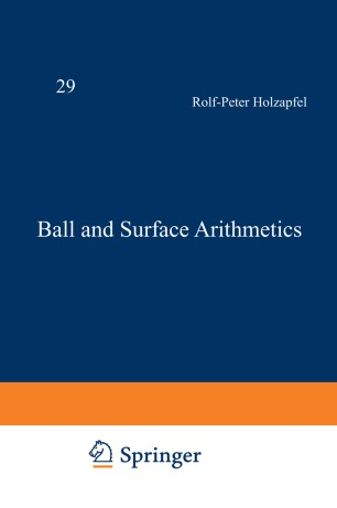 Ball and Surface Arithmetics
