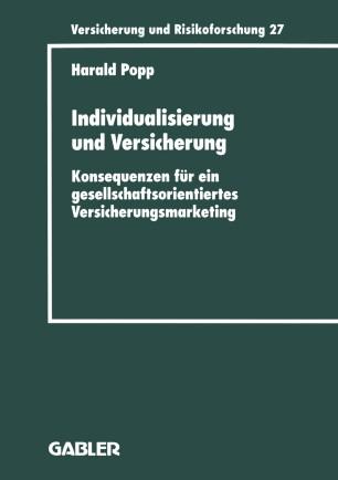 Individualisierung und Versicherung