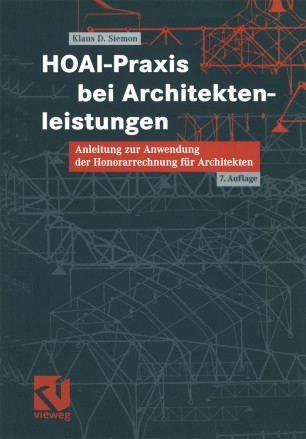 Hoai Praxis Bei Architektenleistungen Springerlink