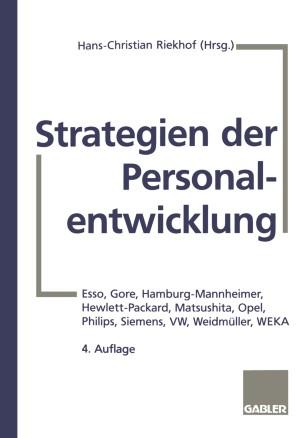 Strategien der Personalentwicklung