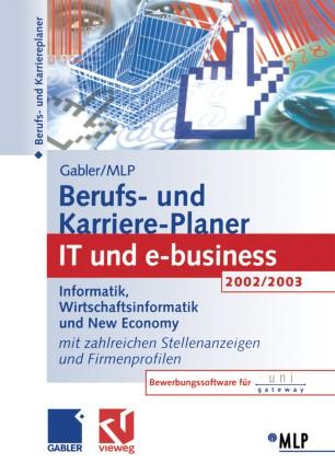 Gabler / MLP Berufs- und Karriere-Planer 2002/2003: IT und e-business