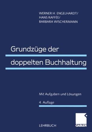 Grundzüge Der Doppelten Buchhaltung Springerlink