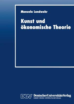 Kunst und ökonomische Theorie