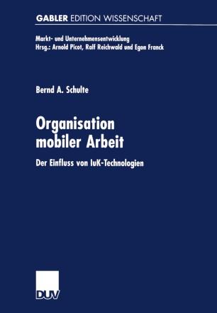 Organisation mobiler Arbeit