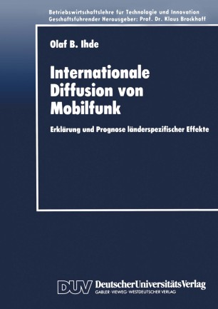 Internationale Diffusion von Mobilfunk