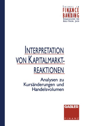 Interpretation von Kapitalmarktreaktionen