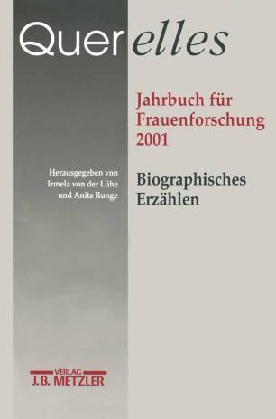 Jahrbuch für Frauenforschung 2001