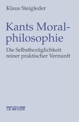 Kants Moralphilosophie