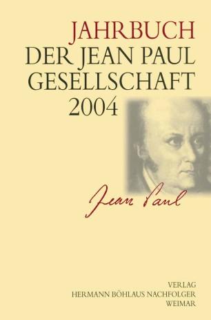 Jahrbuch der Jean-Paul-Gesellschaft