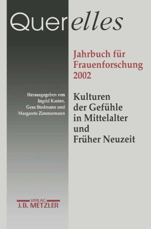 Querelles: Jahrbuch für Frauenforschung 2002