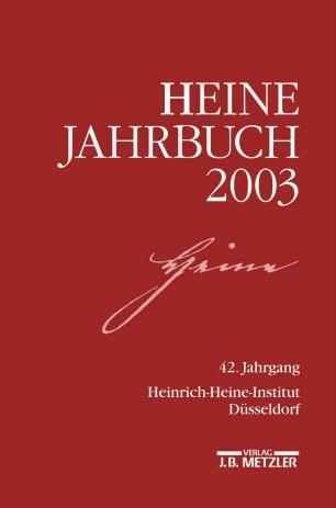 Heine-Jahrbuch 2003