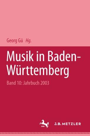 Musik in Baden-Württemberg