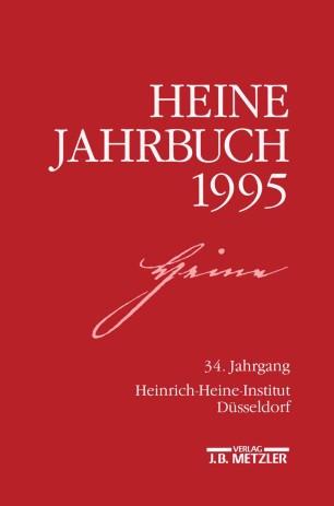 Heine Jahrbuch 1995 Springerlink
