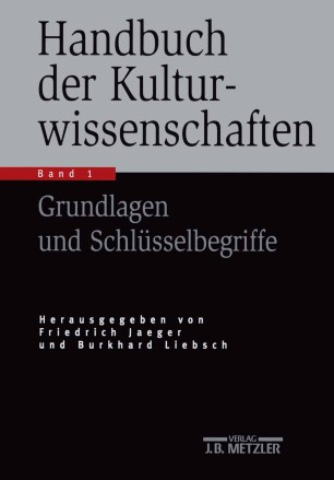 Handbuch der Kulturwissenschaften