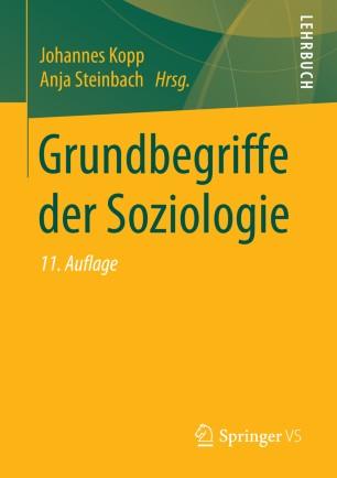 Grundbegriffe der Soziologie | SpringerLink