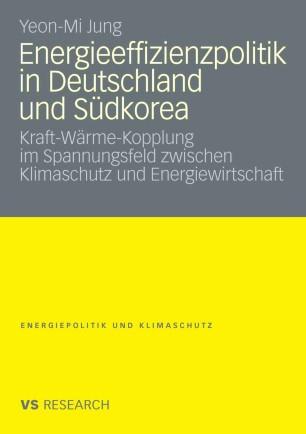 Energieeffizienzpolitik in Deutschland und Südkorea