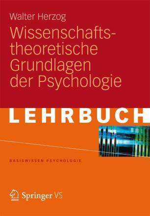 wissenschaftstheoretische grundlagen der psychologie. Black Bedroom Furniture Sets. Home Design Ideas