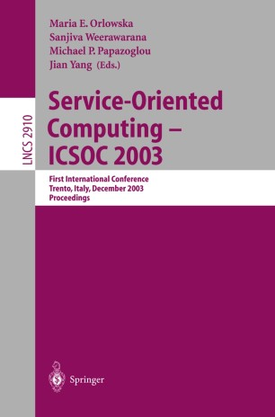 Service-Oriented Computing - ICSOC 2003