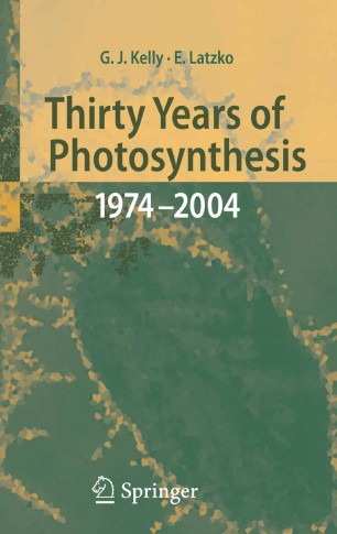 Thirty Years of Photosynthesis: 1974 - 2004