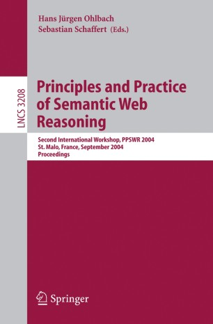 Principles and Practice of Semantic Web Reasoning
